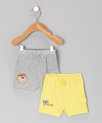 Yellow Shorts Set - Infant
