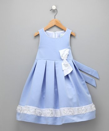 Periwinkle Celia Dress - Girls
