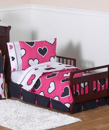 Hearts Toddler Comforter Set