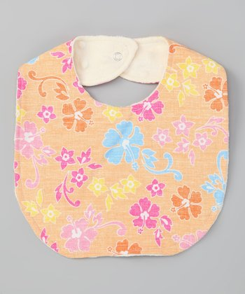 Orange Aloha Bib