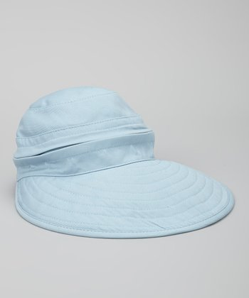 Light Blue Naples Convertible Hat