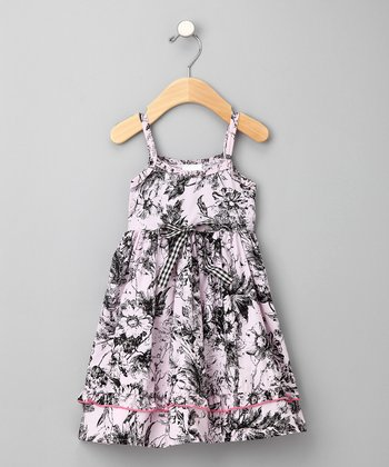Chelsea Garden Toile Babydoll Dress - Infant, Toddler & Girls