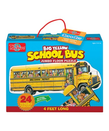 School Bus Floor Puzzle