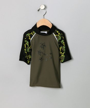 Sour Apple Offshore Rashguard - Infant & Toddler