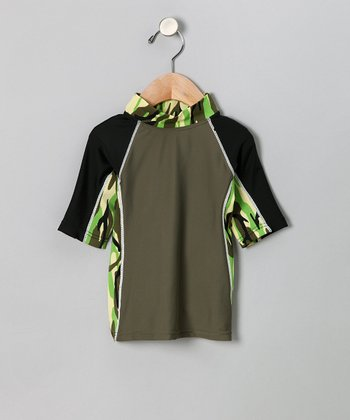 Jungle Camo Onshore Rashguard - Infant, Toddler & Boys