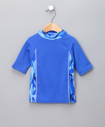 Ocean Camo Rashguard - Infant, Toddler & Boys