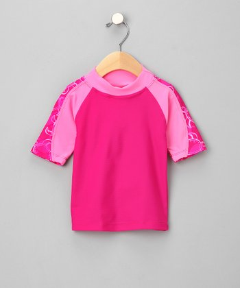 Pink Offshore Rashguard - Infant & Toddler