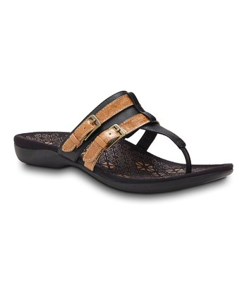 Black Clarity Sandal