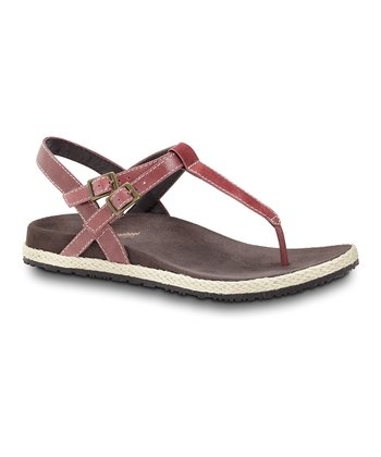 Pink Renew Leather Sandal