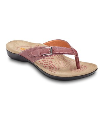 Pink Restore Leather Sandal