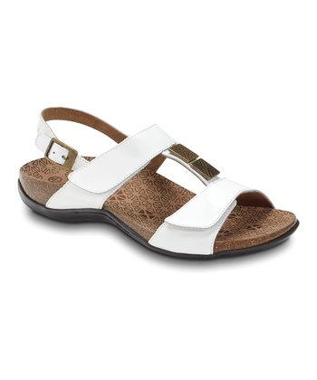 White Patent Leather Sonora Sandal