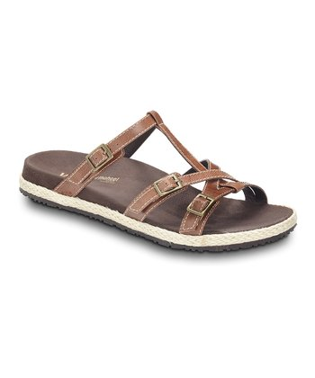 Tan Leather Zeal Sandal