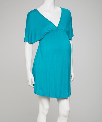 Jade Maternity Dolman Dress
