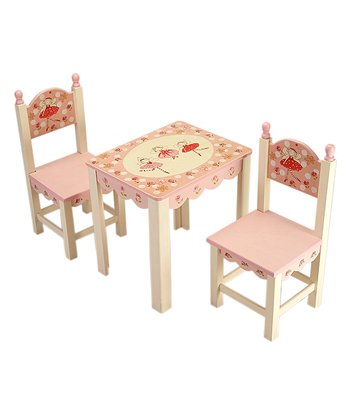 Ballerina Chair & Table Set
