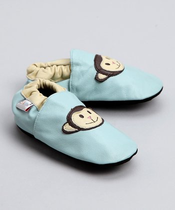Bibi & Mimi Blue Monkey Booties