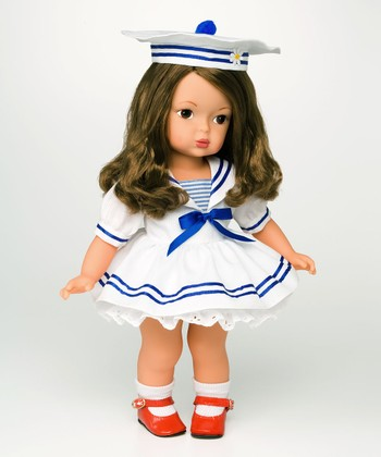 Brown-Haired Summer by the Sea 15'' Doll