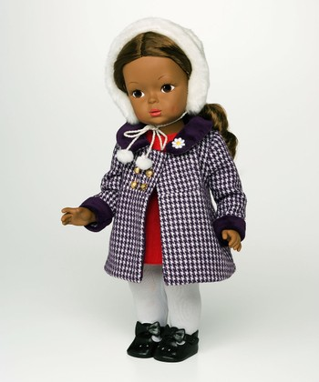 Dark Brown-Haired Winter Wonderland 15'' Doll