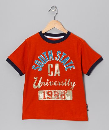 Autumn Orange 'University' Tee