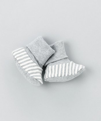 Gray Booties - Infant