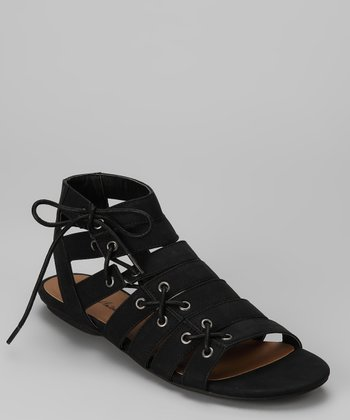 Black Decatur Sandal