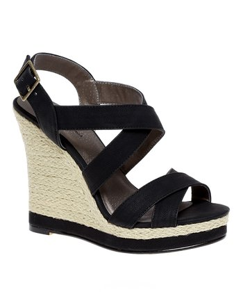 Black Glennie Espadrille