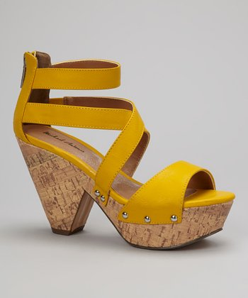 Yellow Globe 2 Sandal