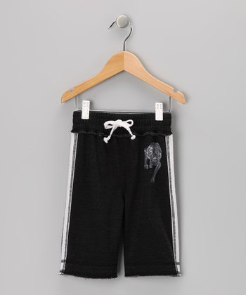 Black French Terry Shorts - Infant, Toddler & Boys