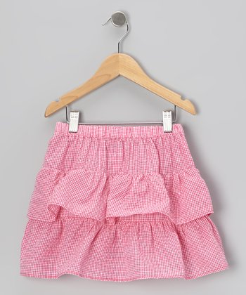 Hot Pink Ruffle Skirt - Infant, Toddler & Girls