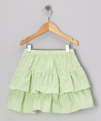 Lime Ruffle Skirt - Infant, Toddler & Girls