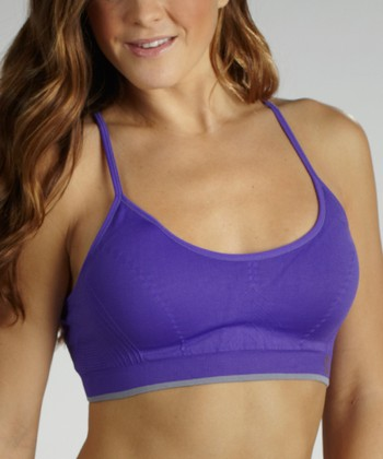 Ultramarine Medium-Impact Seamless Sports Bra