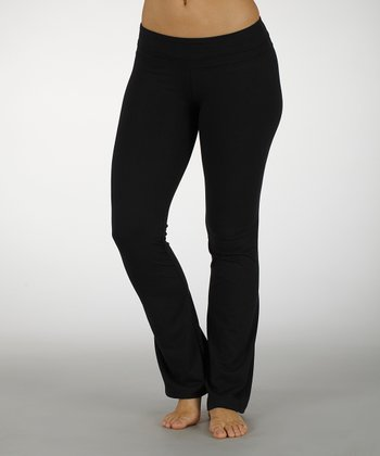 Black Platinum Yoga Pants