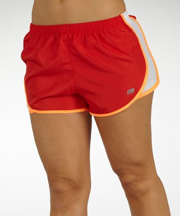 Scarlet Red Relay Shorts