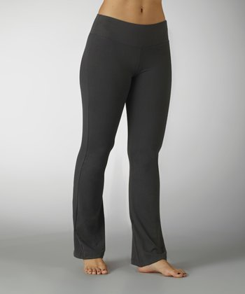 Carbon Sanded Dry-Wik Yoga Pants