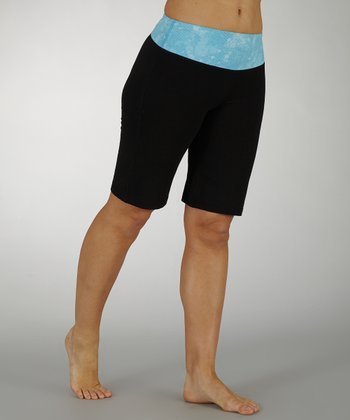 Aquarius Sky's the Limit Tummy Control Bermuda Shorts