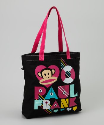 Black & Pink 'Paul Frank' Tote