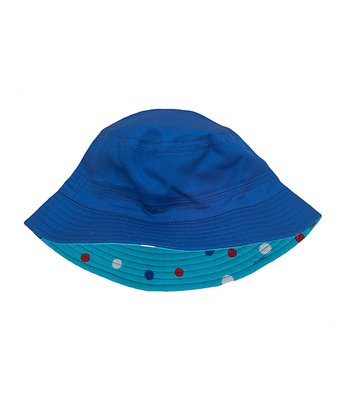 Blue Icy Treat Reversible Sunhat