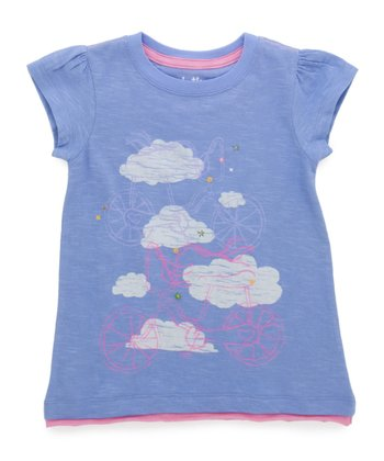 Purple Bike Top - Toddler & Girls