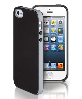 Black & Gray Dual Case for iPhone 5