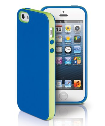 Blue & Green Dual Case for iPhone 5