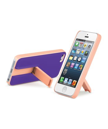 Pink & Purple Kickstand Case for iPhone 5