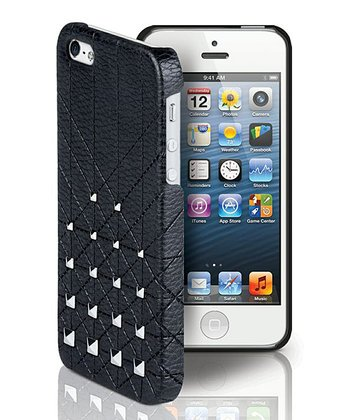 Black & Silver Mini Studs Case for iPhone 5