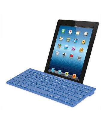 Blue Bluetooth Keyboard