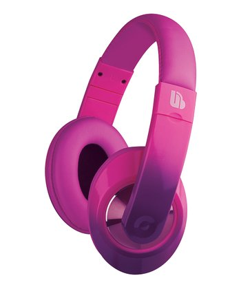 Pink Ombré Urban Beatz Tempo Headphones