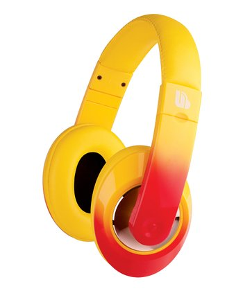 Yellow Ombré Urban Beatz Tempo Headphones