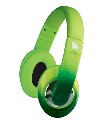 Green Ombré Urban Beatz Tempo Headphones