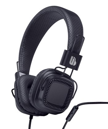 Black Verse Microphone Headphones