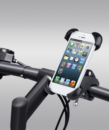 Black Universal Smartphone Bike Mount