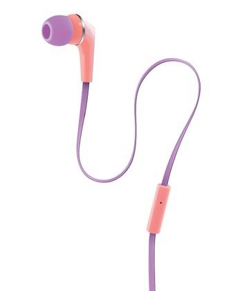 Orange & Purple Urban Beatz Equinox Earbuds