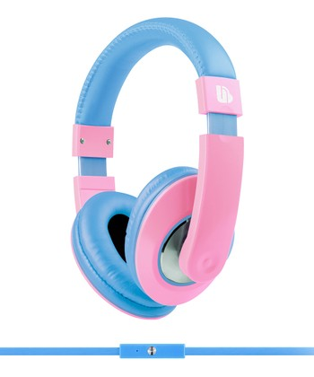 Blue & Pink Tempo Headphones