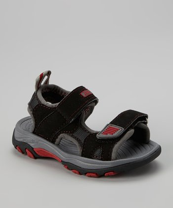 Black Denali Sandal - Kids